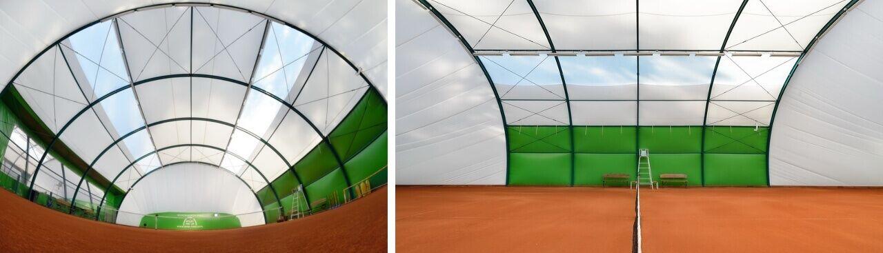 Sport Halls s.c. Arched tennis halls