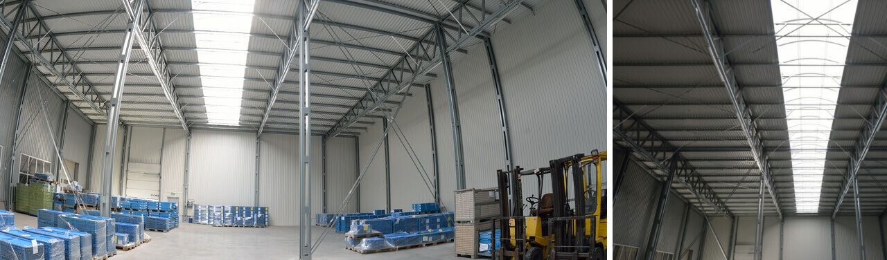 Sport Halls s.c. Warehouse and production facilities
