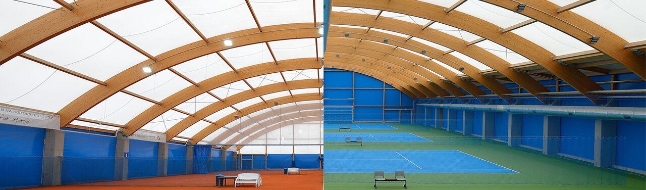 Sport Halls s.c. Wimbledon tennis halls