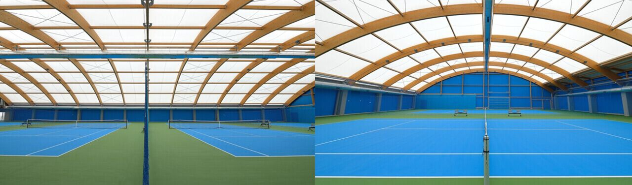 Sport Halls s.c. Acrylic surfaces