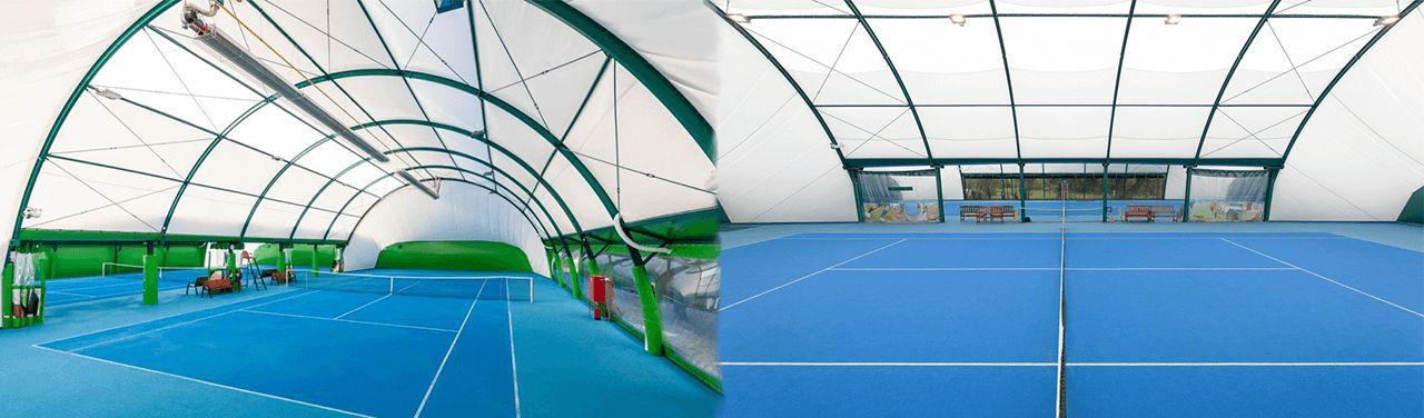 Sport Halls s.c. Carpet surfaces for indoor tennis courts