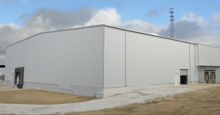 Warehouse and production facilities