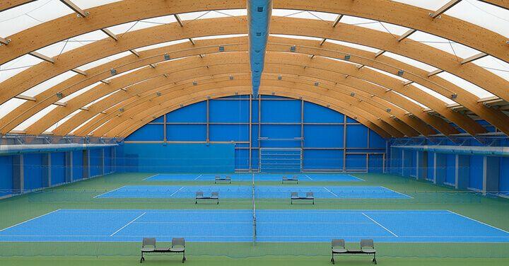 Wimbledon tennis halls