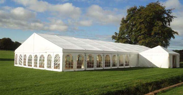 Tent halls – rental service