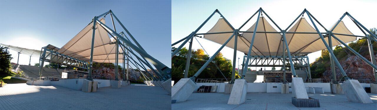 Sport Halls s.c. Membrane roofings
